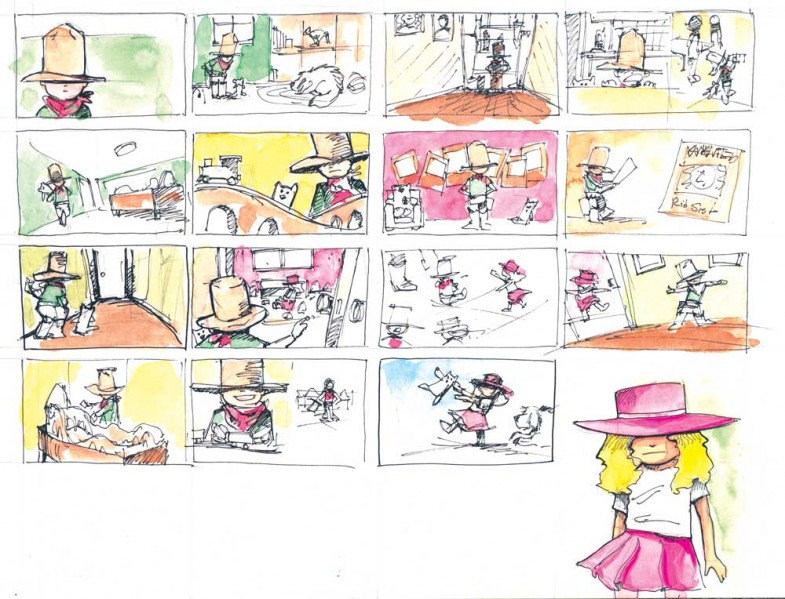 cowboykid-storyboards
