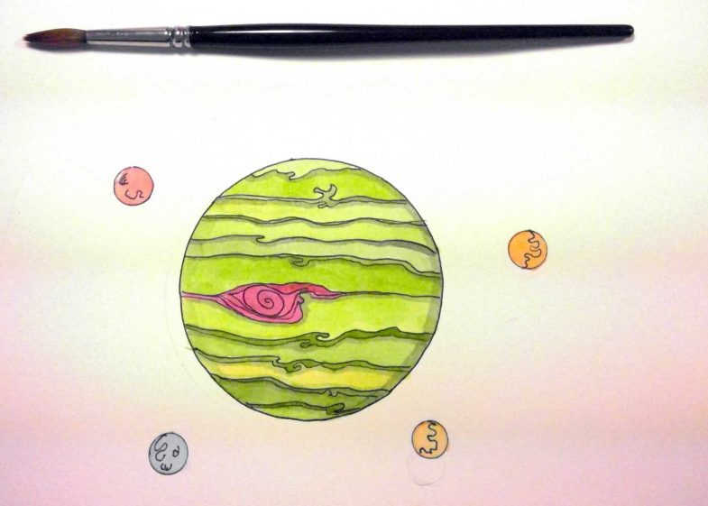 jupiter-watercolor