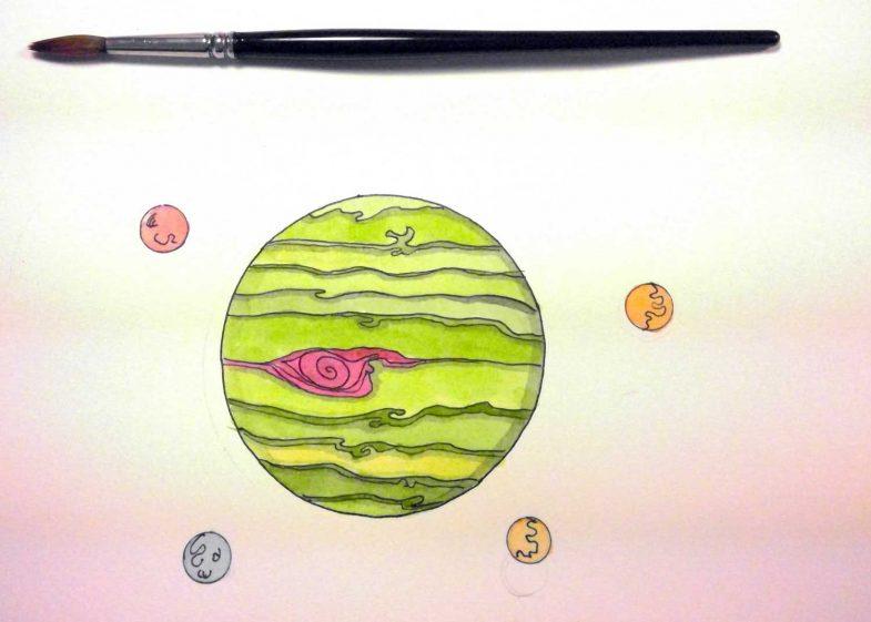 jupiter-watercolor